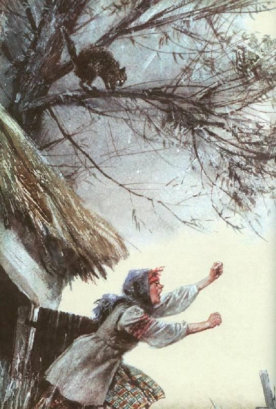 Иллюстрация 68 из 94 для Вечера на хуторе близ Диканьки - Николай Гоголь | Лабиринт - книги. Источник: Zhanna