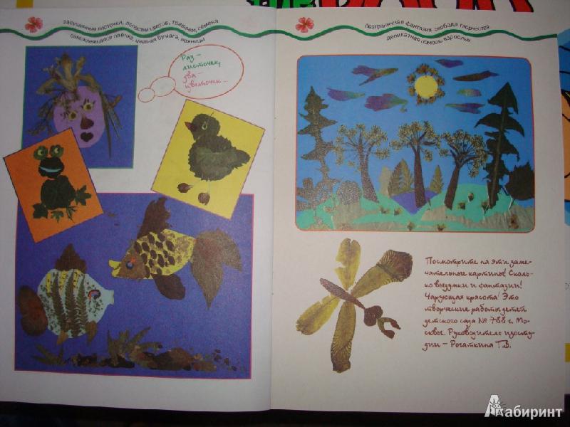 Иллюстрация 9 из 22 для Мастерилка № 7. Листья, травы, семена. Аппликация из листьев - Татьяна Рогаткина | Лабиринт - книги. Источник: Ирчик