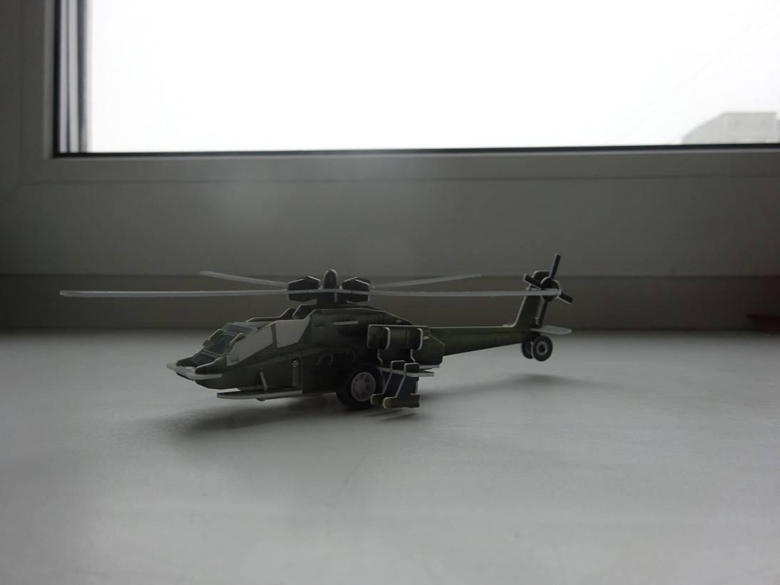 Иллюстрация 11 из 16 для 3D-пазл. Волшебный механизм. Вертолет | Лабиринт - игрушки. Источник: Iliy