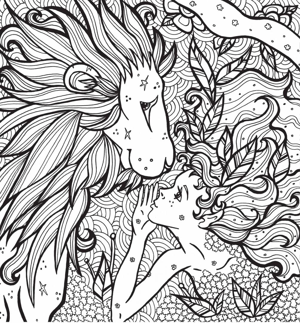 """Иллюстрация 3 из 16 для Раскраска-антистресс """"Волшебные ..."""