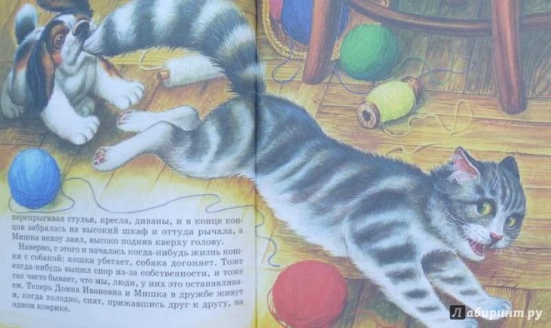 пришвин кот картинки была достаточно небогатой