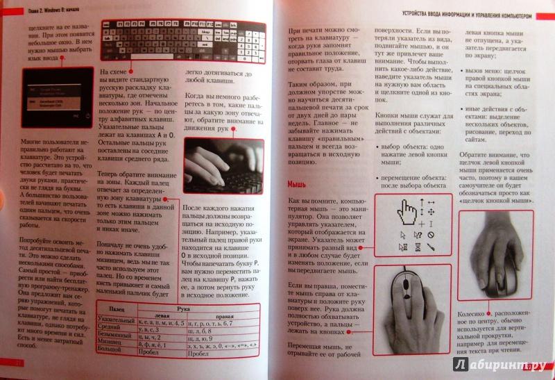 Иллюстрация 14 из 16 для Визуальный самоучитель компьютера и ноутбука для любимых родителей - Виннер, Коптева | Лабиринт - книги. Источник: Соловьев  Владимир