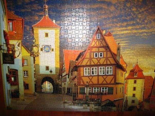 Иллюстрация 1 из 5 для Step Puzzle-1500  Ротенбург. Германия (83006) | Лабиринт - игрушки. Источник: Hoty
