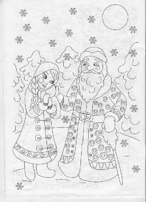иллюстрация 2 из 8 для раскраска русские народные сказки