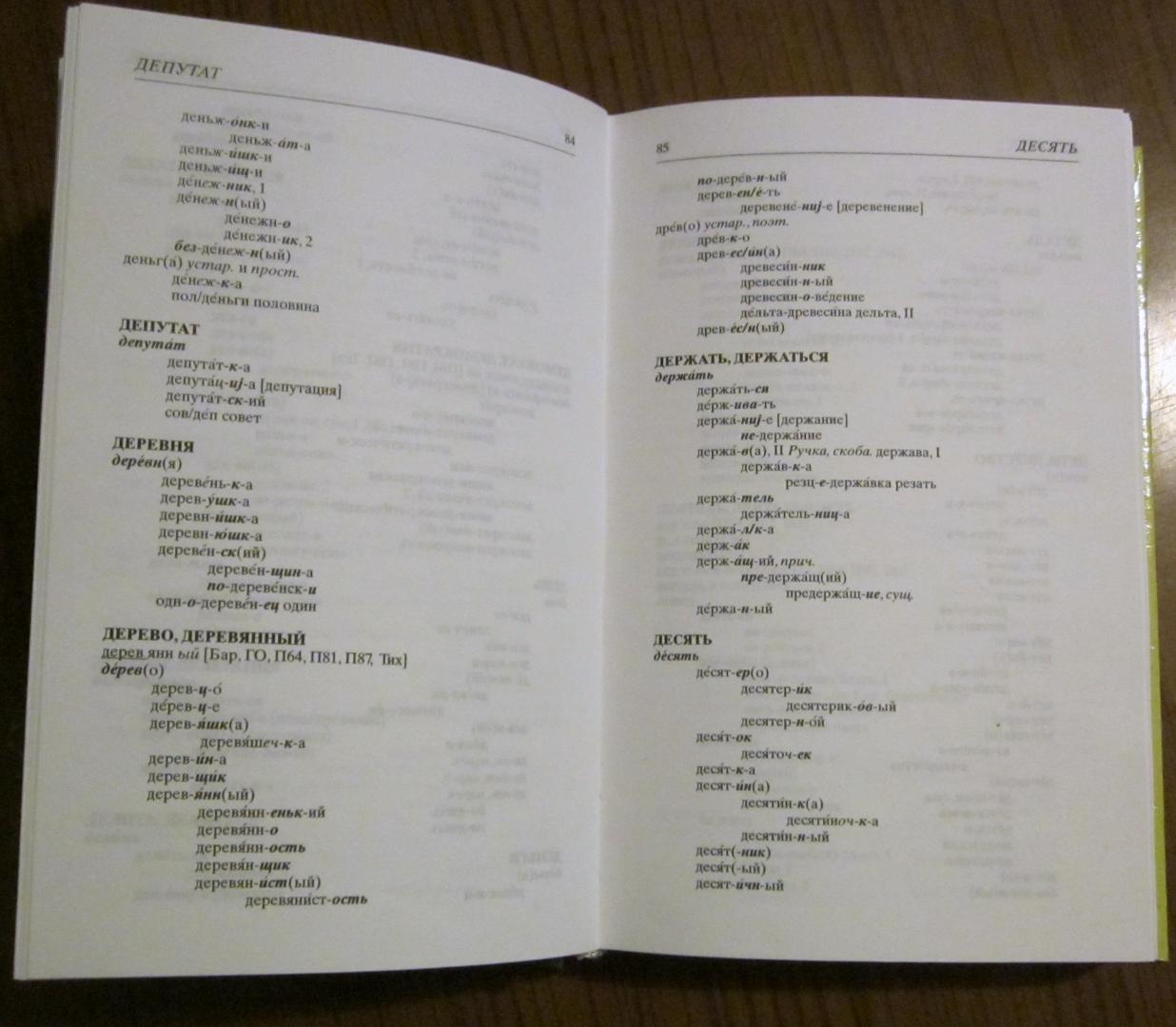 Иллюстрация 8 из 9 для Школьный словообразовательный словарь русского языка | Лабиринт - книги. Источник: Такуша