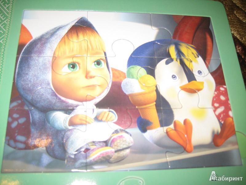 Иллюстрация 4 из 9 для Подкидыш. Маша и Медведь | Лабиринт - игрушки. Источник: Ярославна ))