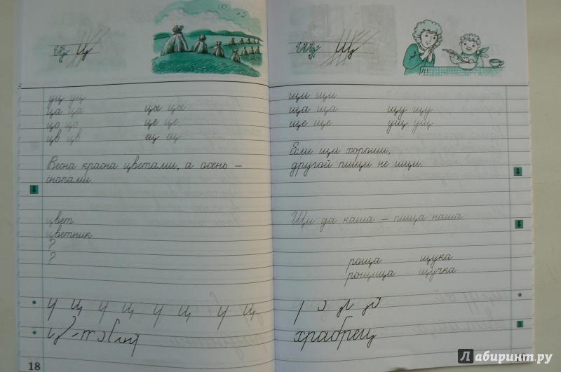 Иллюстрация 4 из 4 для Русский язык. Чистописание. 3 класс ...