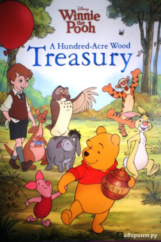Иллюстрация 3 из 9 для Winnie the Pooh: Hundred-Acre-Wood Treasury - Lisa Marsoli | Лабиринт - книги. Источник: Лобановы  Андрей/анастасия