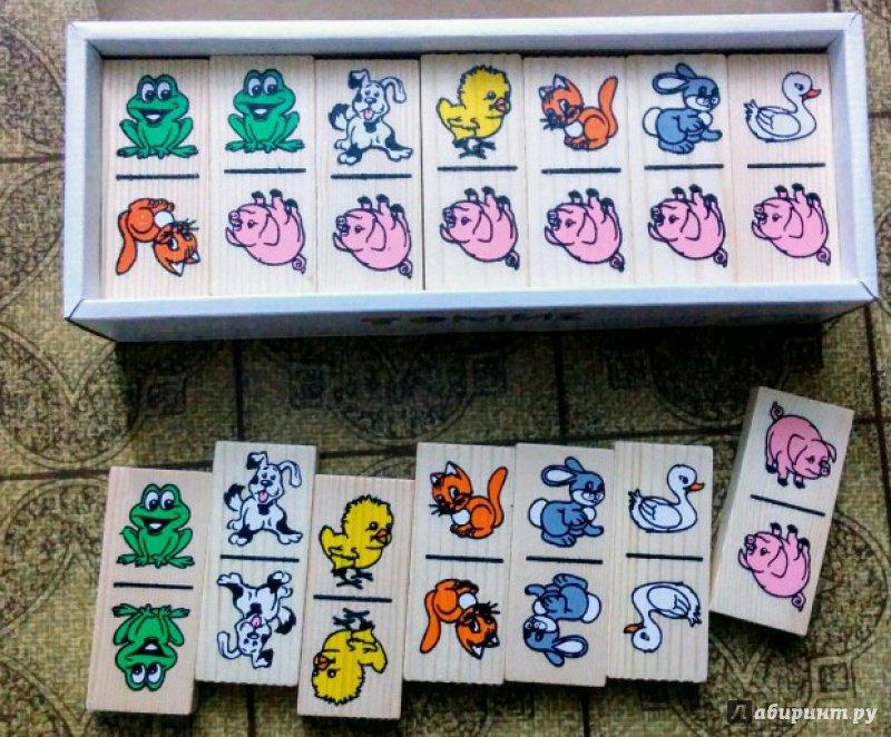 """Иллюстрация 23 из 29 для Домино """"Животные"""" (5555-1)   Лабиринт - книги. Источник: Natalie Leigh"""