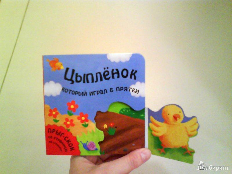 Иллюстрация 4 из 6 для Цыпленок, который играл в прятки - Татьяна Хабарова | Лабиринт - книги. Источник: Мила