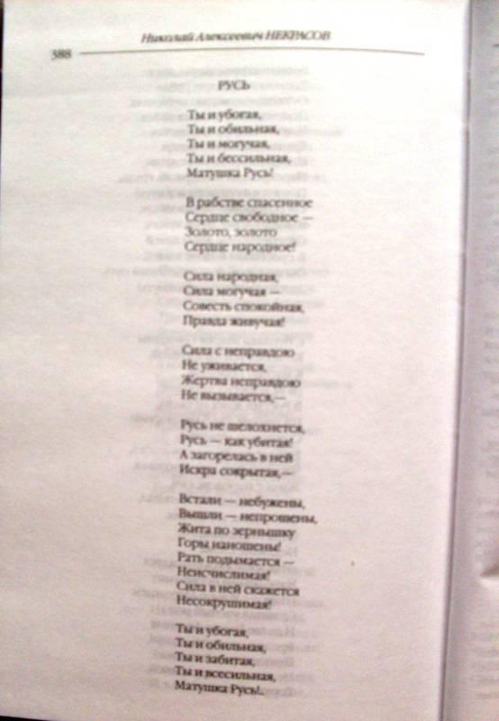 Иллюстрация 6 из 22 для Стихотворения и поэмы. Кому на Руси жить хорошо - Николай Некрасов | Лабиринт - книги. Источник: Сабирзанова  Арина