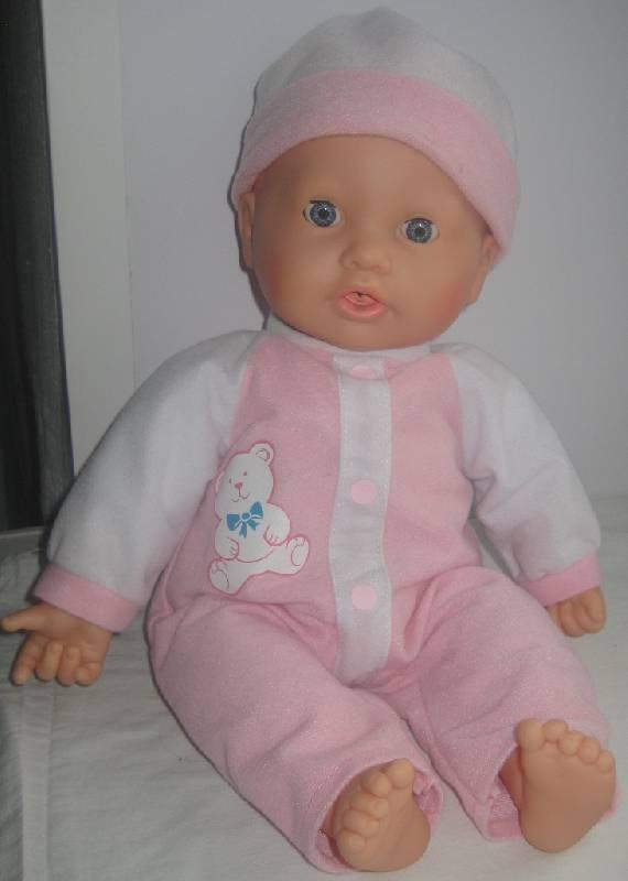 """Иллюстрация 2 из 2 для Кукла пупс """"Дочки-матери. Моя малышка"""" функциональная с пустышкой, на батарейках (5235)   Лабиринт - игрушки. Источник: Бабкина  Ольга"""