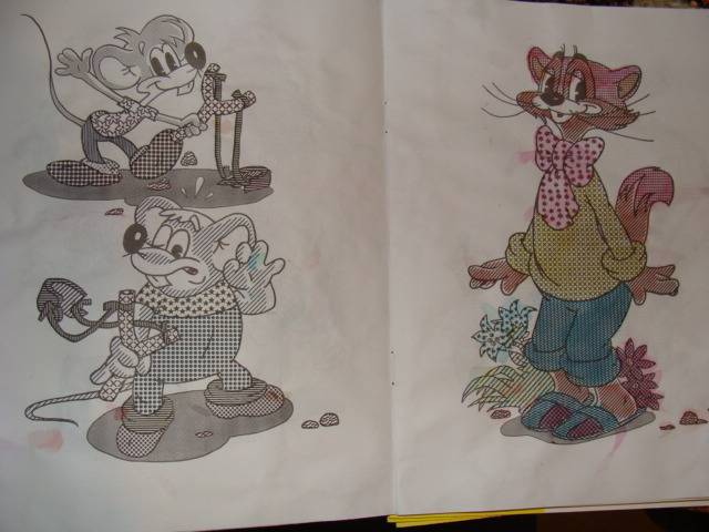 Иллюстрация 3 из 12 для Водная книжка-раскраска: Волк, заяц и другие | Лабиринт - книги. Источник: Арта  Елена