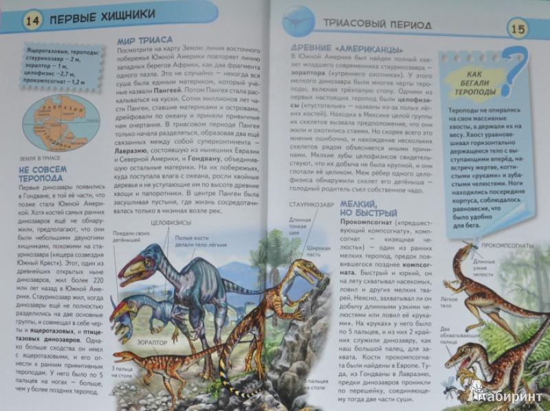 Иллюстрация 13 из 33 для Динозавры. Ящеры мезозойской эры - Юлия Школьник | Лабиринт - книги. Источник: NDusha