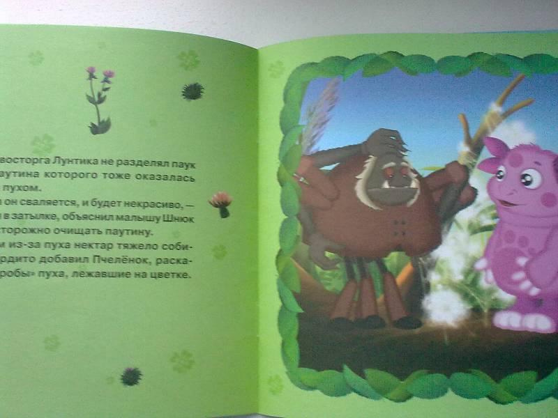 Иллюстрация 1 из 14 для Книжка-квадрат: Звездопад. Лунтик и его друзья | Лабиринт - книги. Источник: foxi-lisenok