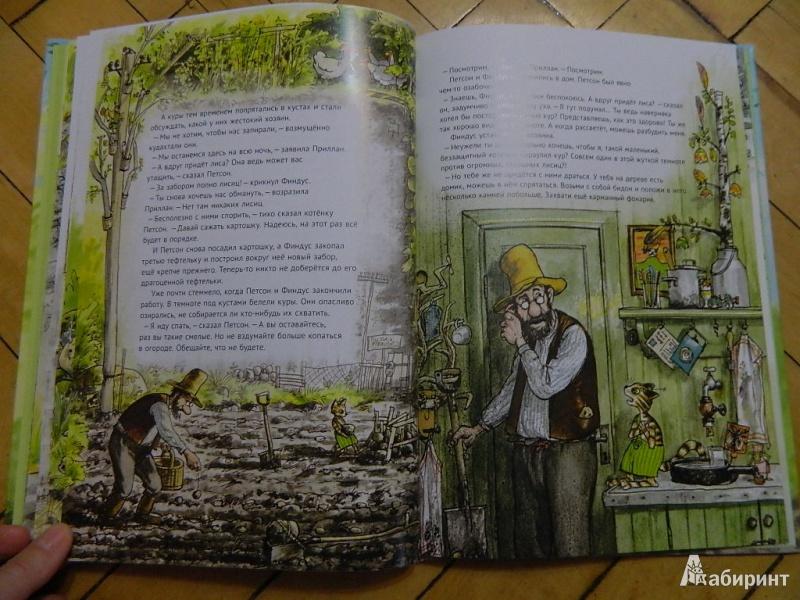 Иллюстрация 33 из 57 для Переполох в огороде - Свен Нурдквист | Лабиринт - книги. Источник: Мама Ольга