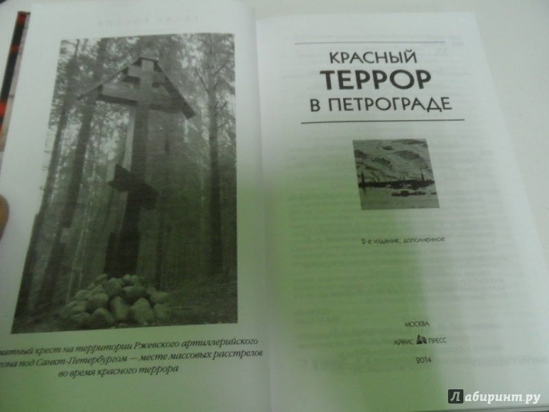 Иллюстрация 19 из 26 для Красный террор в Петрограде | Лабиринт - книги. Источник: Брежнева  Инга