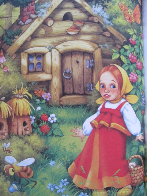 Картинка для детей машенька из сказки