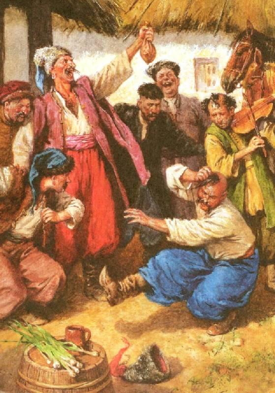 Иллюстрация 63 из 94 для Вечера на хуторе близ Диканьки - Николай Гоголь   Лабиринт - книги. Источник: Zhanna