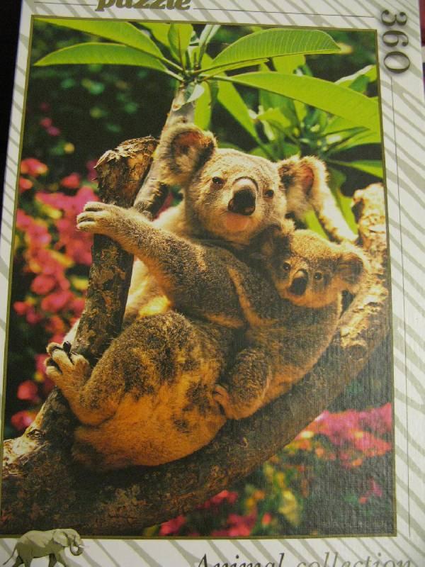 Иллюстрация 1 из 3 для Step Puzzle-360 Мишки коала (73052) | Лабиринт - игрушки. Источник: fidji