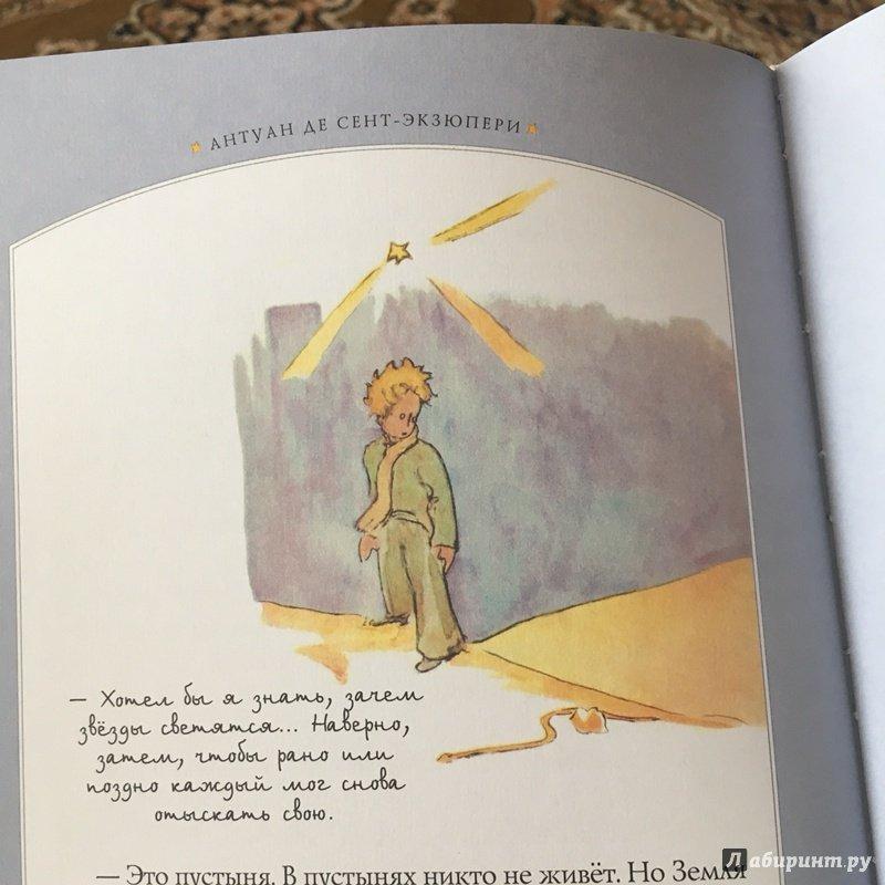 Иллюстрация 42 из 90 для Маленький принц - Антуан Сент-Экзюпери | Лабиринт - книги. Источник: Узназакова  Карина Рафиковна