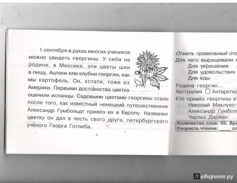 Иллюстрация 1 из 15 для Чтение. 3 класс, 1-е полугодие. Блицконтроль скорости чтения и понимания текста - Беденко, Савельев   Лабиринт - книги. Источник: Никед
