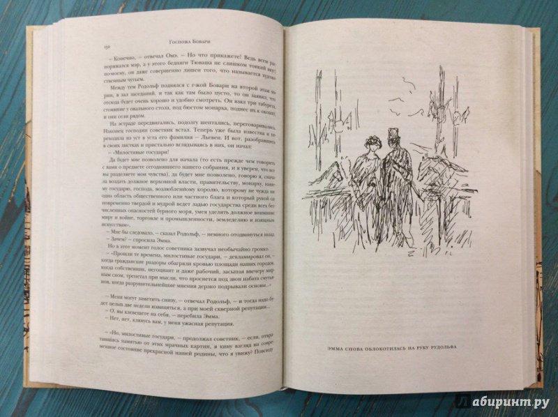 Иллюстрация 25 из 37 для Госпожа Бовари. Провинциальные нравы - Гюстав Флобер | Лабиринт - книги. Источник: R.O.S.S.