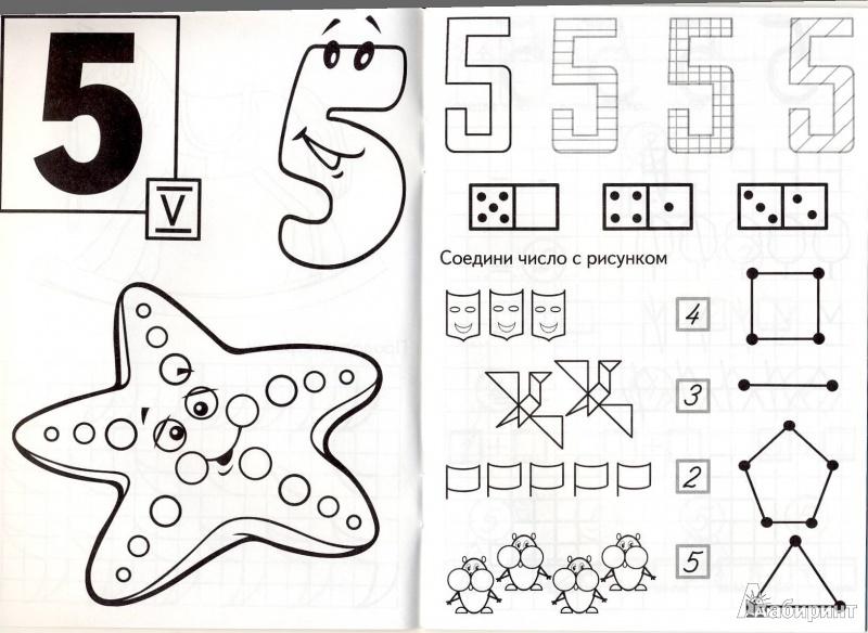 Иллюстрация 4 из 22 для ПЯТЬ - состав числа - И. Медеева   Лабиринт - книги. Источник: Мила