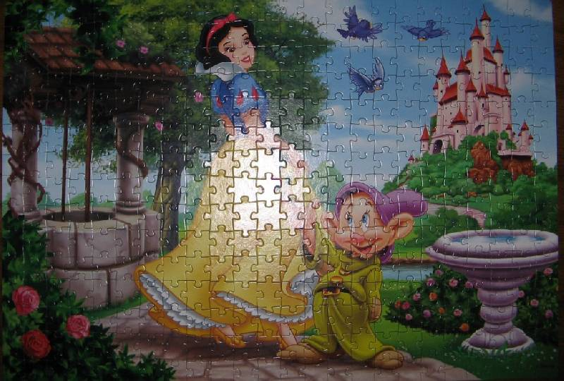 Иллюстрация 1 из 2 для Step Puzzle-360 (96006) Белоснежка | Лабиринт - игрушки. Источник: Читательница