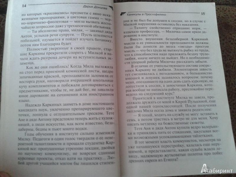 Иллюстрация 8 из 19 для Каникулы в Простофилино - Дарья Донцова | Лабиринт - книги. Источник: Шерстнева  Валерия