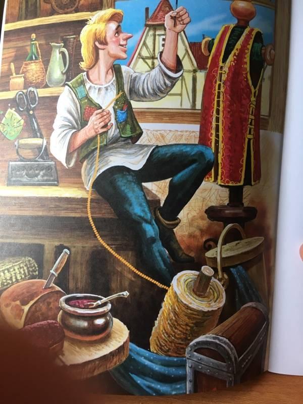 этой модели картинки к сказке братьев гримм храбрый портняжка фото картинка