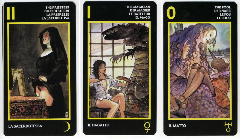 Иллюстрация 16 из 25 для Таро Манара (эротическое таро) | Лабиринт - книги. Источник: Пелевина  Ирина