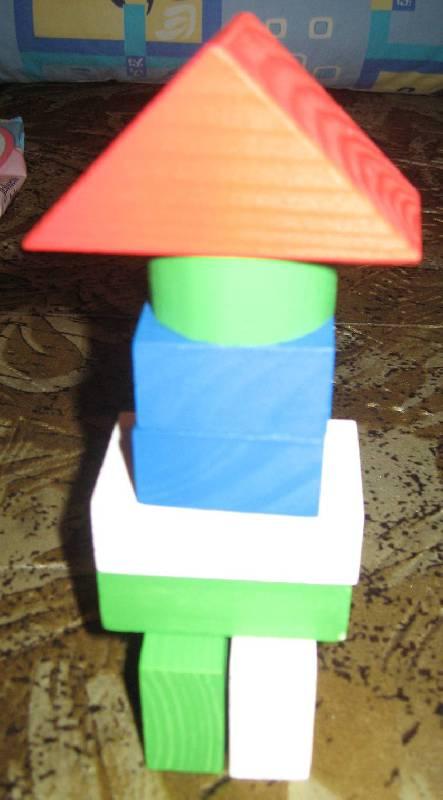 Иллюстрация 26 из 27 для Конструктор цветной (14 деталей) (6678-14) | Лабиринт - игрушки. Источник: Зеленоглазая