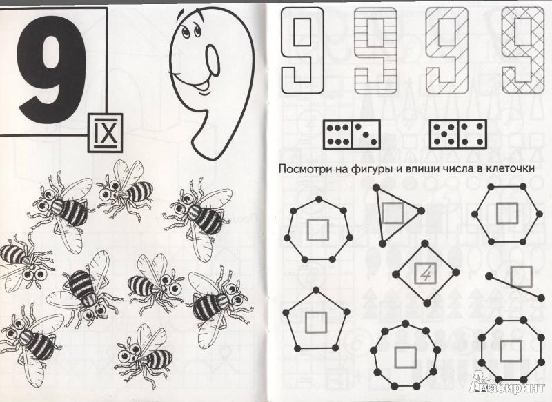 Иллюстрация 4 из 27 для ДЕВЯТЬ - состав числа - И. Медеева | Лабиринт - книги. Источник: Мила