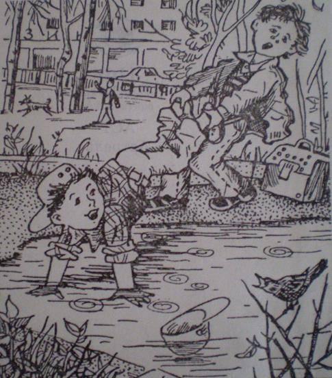 Иллюстрация 1 из 3 для Жизнь Ивана Семенова, второклассника и второгодника: Повести - Лев Давыдычев   Лабиринт - книги. Источник: Ирина