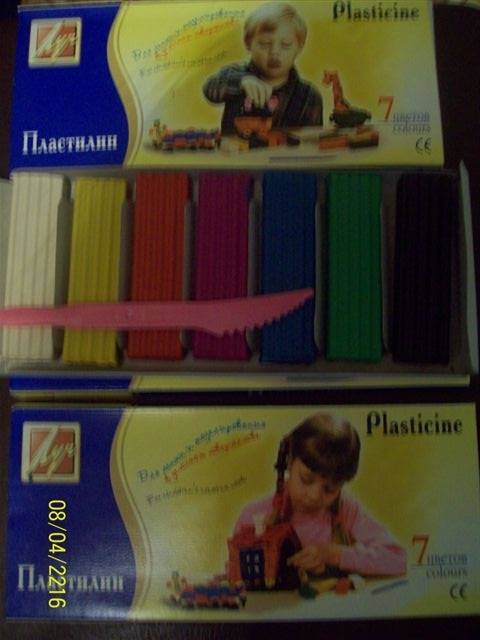 Иллюстрация 1 из 2 для Пластилин Детство 7 цветов (6С 214-08) | Лабиринт - игрушки. Источник: Д  З A