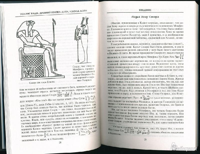 Иллюстрация 11 из 15 для Древний Египет: духи, идолы, боги - Уоллис Бадж | Лабиринт - книги. Источник: Rishka Amiss