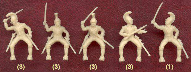 Иллюстрация 1 из 6 для Француские карабинеры 1812 г. (8033) | Лабиринт - игрушки. Источник: Гурков Алексей Владимирович