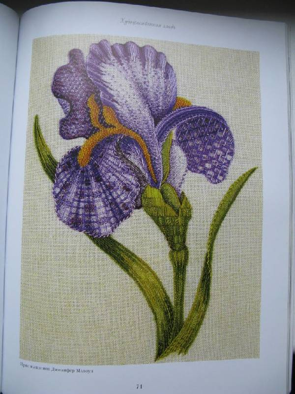 Иллюстрация 24 из 31 для Английская королевская школа вышивания - Салли Сандерс   Лабиринт - книги. Источник: Юта