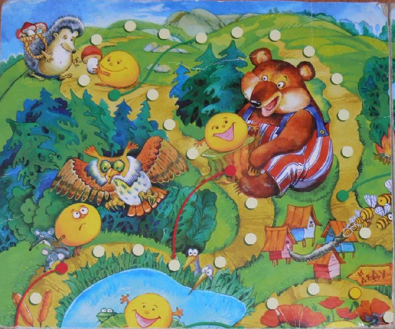 Иллюстрация 8 из 12 для Ходилки. Приключения колобка | Лабиринт - игрушки. Источник: Irbis