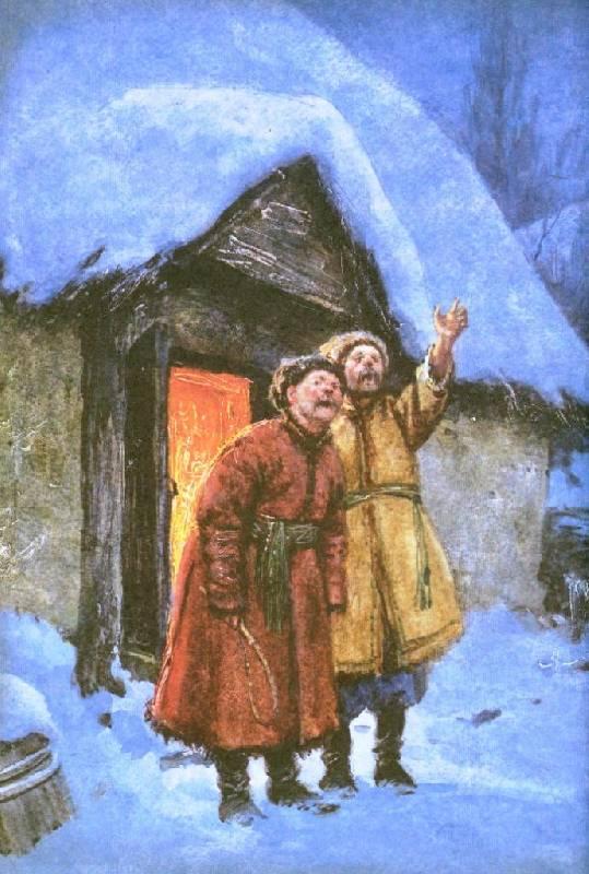 Иллюстрация 72 из 94 для Вечера на хуторе близ Диканьки - Николай Гоголь | Лабиринт - книги. Источник: Zhanna
