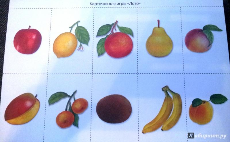 Предметные картинки по теме фрукты