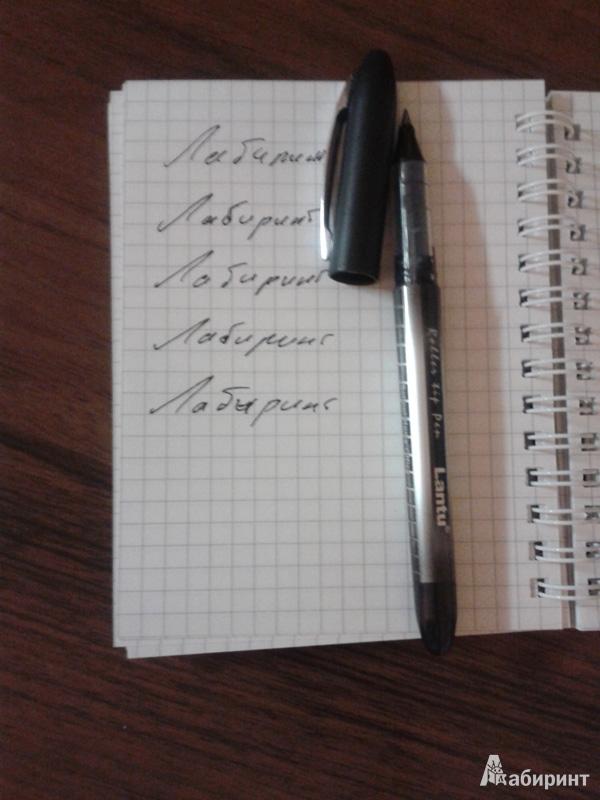 Иллюстрация 1 из 4 для Ручка роллер Lantu (черная)   Лабиринт - канцтовы. Источник: Anita1