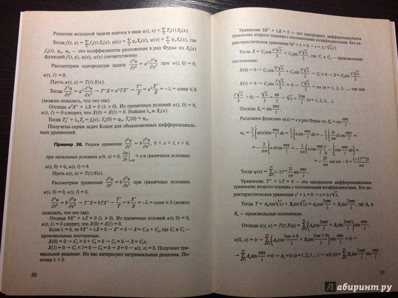 Иллюстрация 8 из 8 для Уравнения в частных производных. Задачи и решения - Георгий Просветов | Лабиринт - книги. Источник: Березина  Наталья Юрьевна