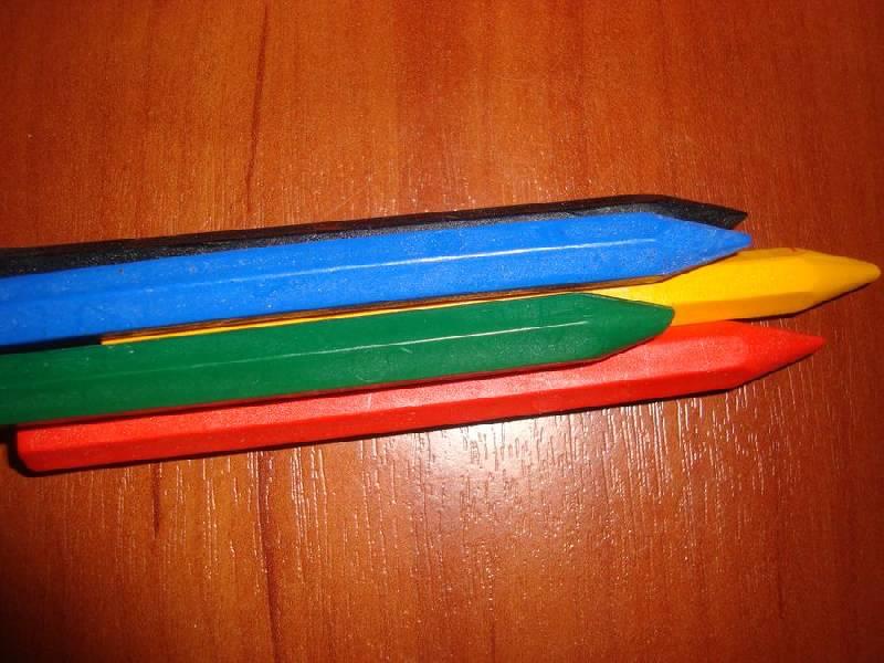 Иллюстрация 1 из 6 для Карандаши восковые шестигранные. 6 цветов (12С 864-08) | Лабиринт - канцтовы. Источник: Счастливая мама