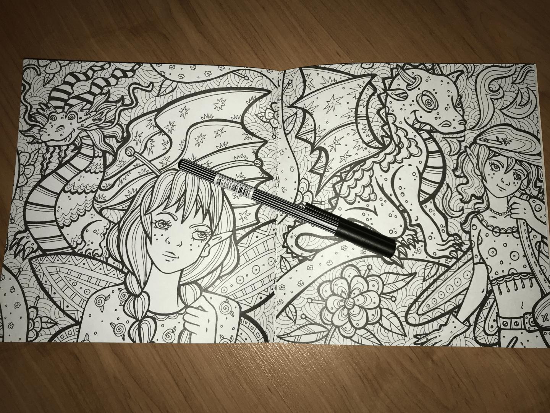 """Иллюстрация 8 из 29 для Раскраска-антистресс """"Невероятные ..."""