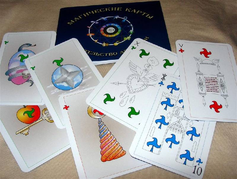 Иллюстрация 1 из 2 для Магические карты (руководство + 72 карты) - Е. Анопова | Лабиринт - книги. Источник: Rocio