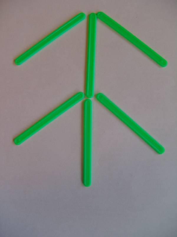 елочка из счетных палочек картинка илиана