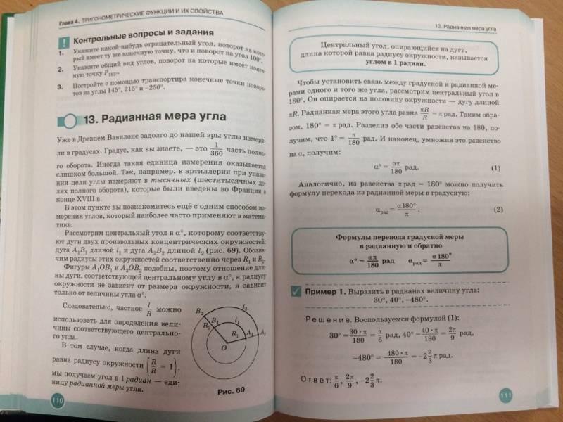 Иллюстрация 12 из 17 для Математика. Алгебра и начала математического анализа. 10 класс. Углубленный уровень. Учебник. ФГОС - Муравин, Муравина | Лабиринт - книги. Источник: Березина  Наталья Юрьевна