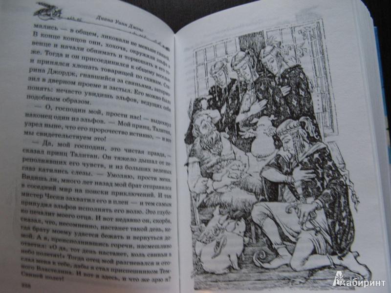 Иллюстрация 25 из 44 для Темный властелин Деркхольма - Диана Джонс | Лабиринт - книги. Источник: Ольга